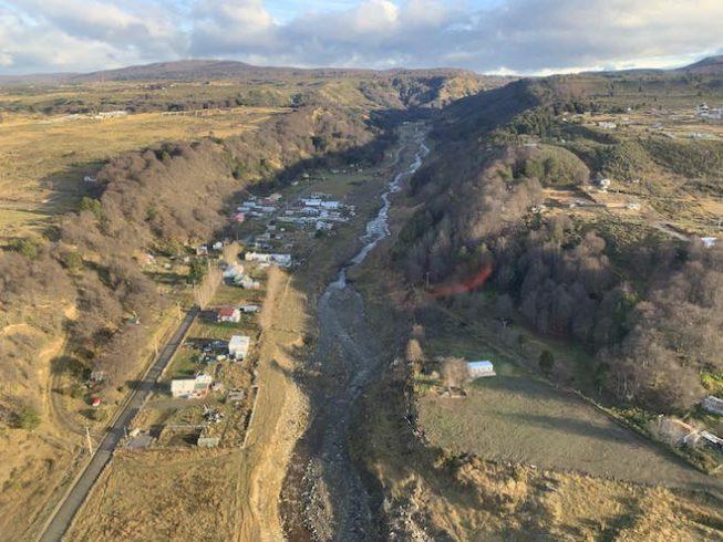 Gobernación de Magallanes realiza monitoreo del Río Las Minas