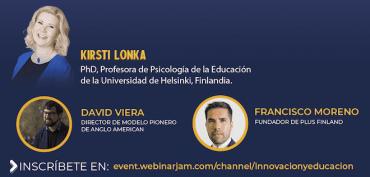 Experta finlandesa en educación comparte experiencia con profesores chilenos en la web
