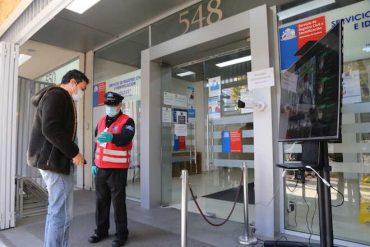Instalan cámara térmica en Registro Civil de Concepción