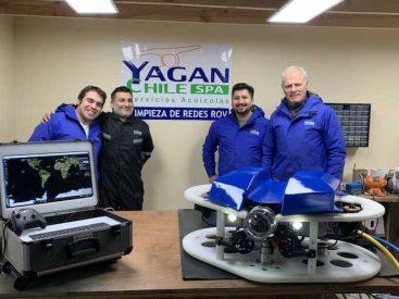 Yagancito: el ROV submarino que busca revolucionar la limpieza de mallas de cultivo en la industria salmonera