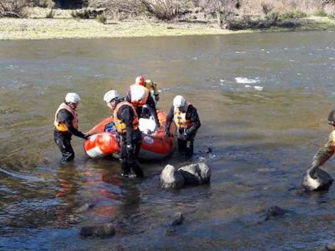 Víctima encontrada en río Simpson corresponde a estudiante universitaria que falleció en accidente junto a su familia