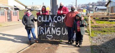 Seremi de Bienes Nacionales y Agricultura entregan donación de alimentos a seis ollas comunes de Temuco