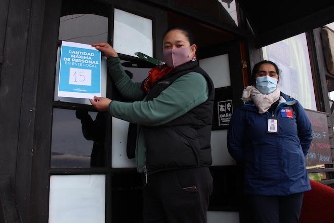 Autoridad Sanitaria supervisó restaurantes de Los Molinos para su apertura