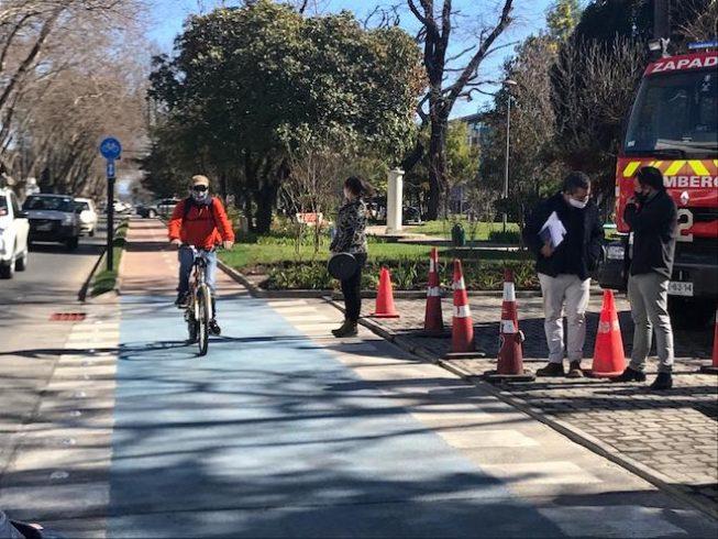 Los Ángeles se convierte en la comuna con más ciclovías de la Región del Biobío