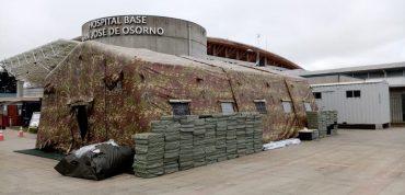 En Osorno invierten $ 487 millones para implementación de Hospital de campaña