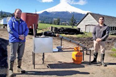 Iniciativa desarrollada en el sur de Chile busca transformar residuos plásticos agrícolas en combustible