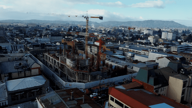 Continúa edificación de Mall Paseo Valdivia: Ministerio Público desestima querella de empresa de la competencia