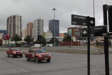 Habilitan semáforos de la rotonda Paicaví destruidos tras estallido social de octubre en Concepción
