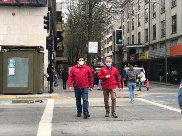 Continúa habilitación de semáforos de Concepción destruidos durante crisis social de octubre