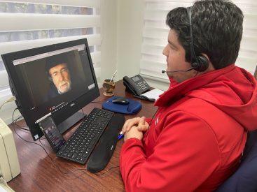 Seremi Pedro Lamas conversó con astrónomo José Maza sobre histórico eclipse solar de diciembre