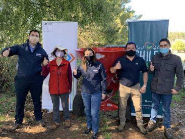 Más de 920 millones de pesos en recursos destinó INDAP Araucanía para modernizar la Agricultura Familiar Campesina
