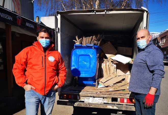 Lanzan primer Plan Piloto de Reciclaje para el sector comercio en Aysén