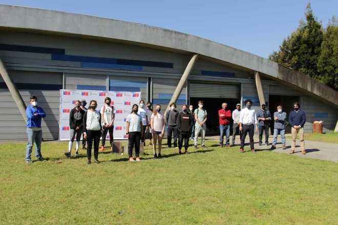Selección de remo inició concentración en Valdivia