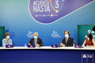 COVID-19 en Chile: 16 comunas avanzan y siete retroceden en el Plan Paso a Paso