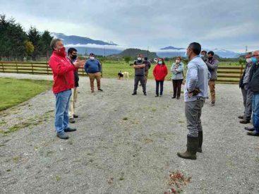 Autoridades inspeccionan lugar donde expulsaron a pescador deportivo en Puerto Aysén
