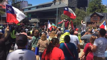 """Alcalde solicita """"mantener el orden público"""" tras manifestación en rechazo a cuarentena por covid-19 en Los Muermos"""