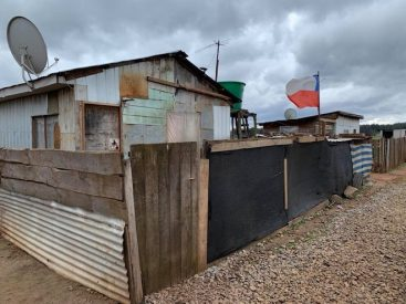 Seis campamentos de La Araucanía bajo riesgo de desastre