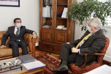 Ministros de Salud de Chile y Colombia firman convenio de cooperación e intercambio científico