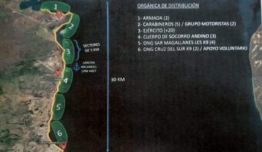 Continúa búsqueda de kayakista desaparecido en Punta Arenas frente al sector del parque Chabunco