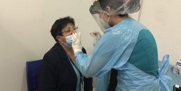Realizan exámenes PCR en el Registro Civil de Concepción
