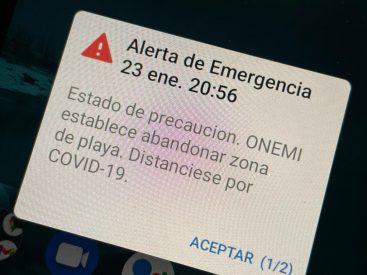 Asociación de Consumidores llama a denunciar si celulares no reciben Alerta de Emergencia