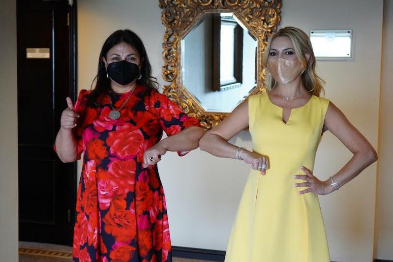 Alcaldesa de Paillaco sostuvo reunión de trabajo con Primera Dama de Argentina