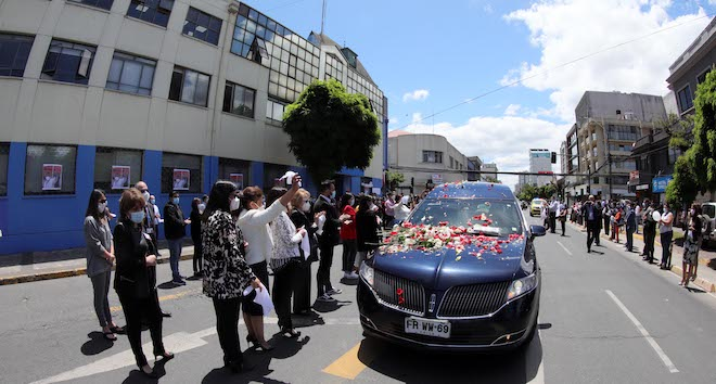 Con una emotiva despedida Concepción despidió al Dr. Carlos Grant del Río