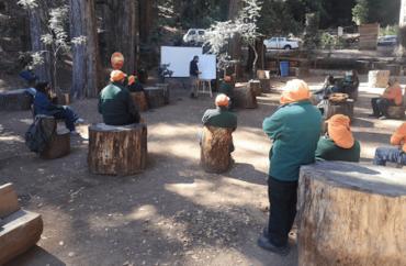 Parque Cerro Caracol y Conaf colaboran para reforzar técnicas de prevención de incendios en Concepción