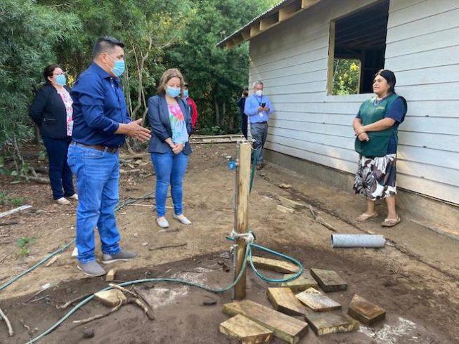 Comunidad originaria de Callaqui de Alto Biobío cuenta con solución de agua potable