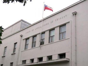 Corte de Chillán confirma arresto domiciliario total de chofer por conducción en estado de ebriedad con resultado de muerte de acompañante