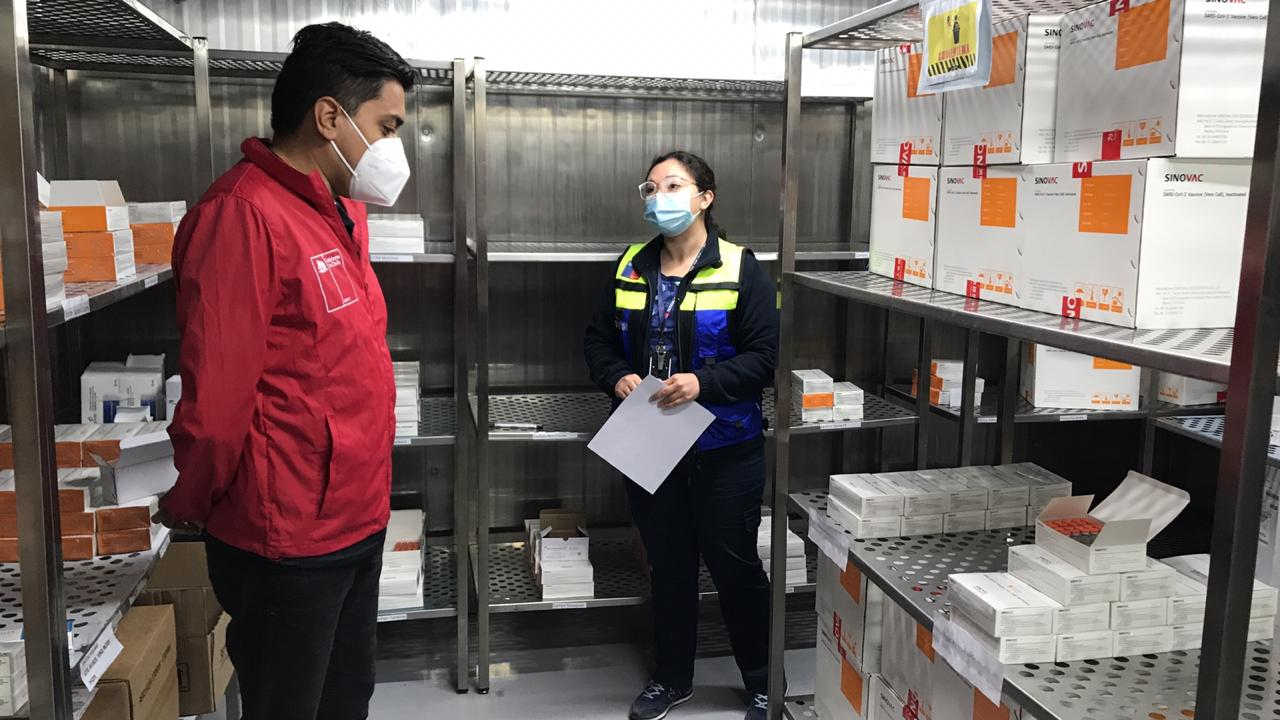 Vacunas están listas para iniciar proceso contra el Covid-19 en la provincia de Biobío