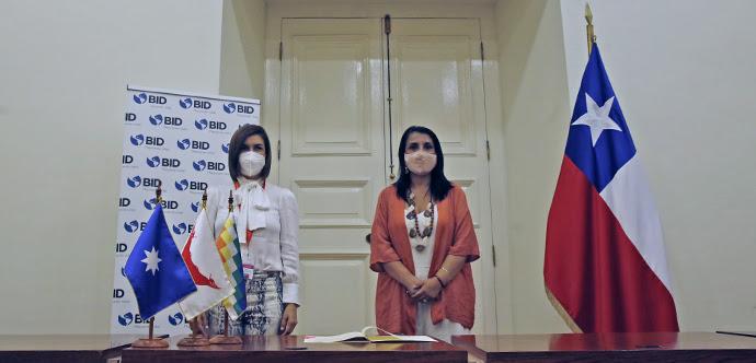Ministerio de Desarrollo Social y BID firman convenio para promover la economía de los pueblos originarios de Chile