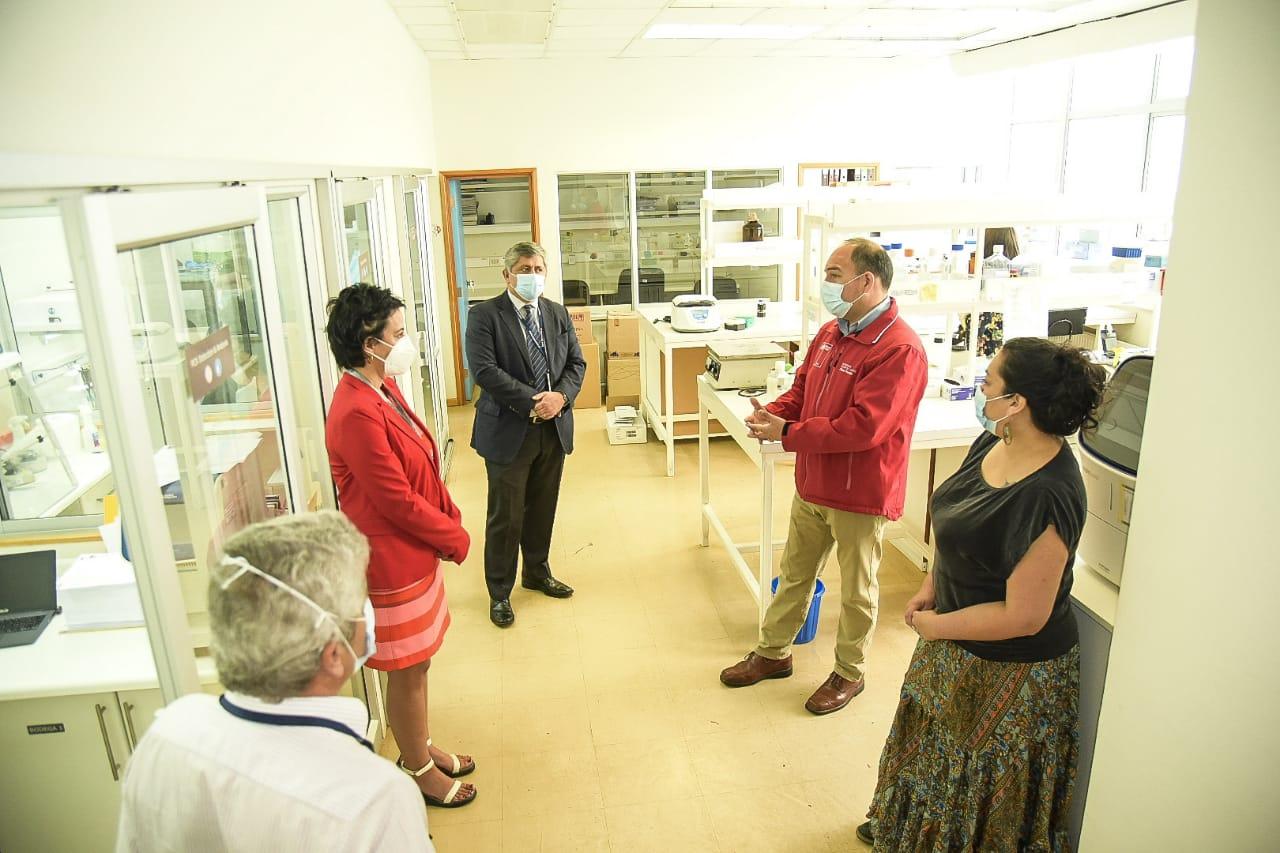 Gobierno concretó convenio con Laboratorio de Virología de UACh para reforzar procesamiento de muestra Covid 19 en Los Ríos