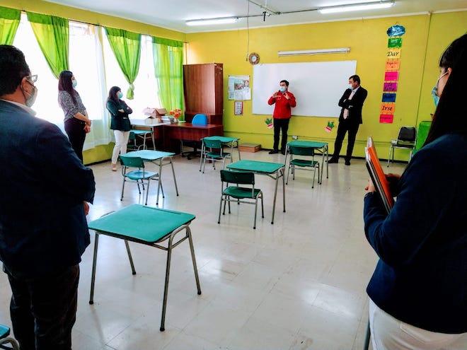 268 millones de pesos se invertirán para mejorar escuela básica de Arauco