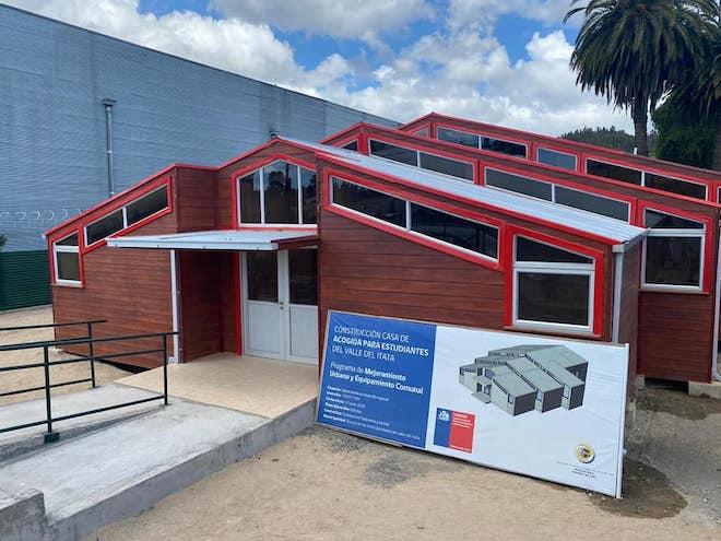 Estudiantes de la educación superior cuentan con nueva casa de acogida en Penco