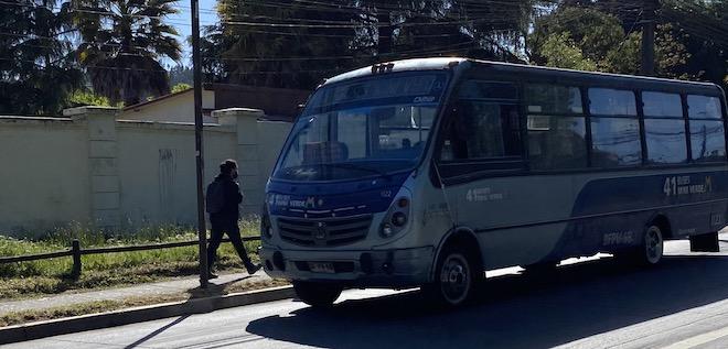 """""""El transporte público funcionará con la flota requerida para traslados estrictamente necesarios"""" en la Región del Biobío"""