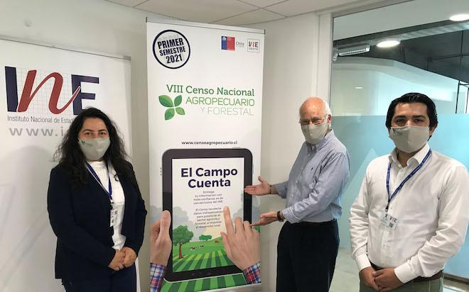 INE Biobío y autoridades regionales realizaron lanzamiento del VIII Censo Agropecuario y Forestal 2021