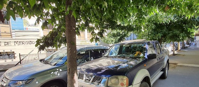 50 conductores infraccionados en el Gran Concepción por estacionar sobre la acera y en lugares prohibidos