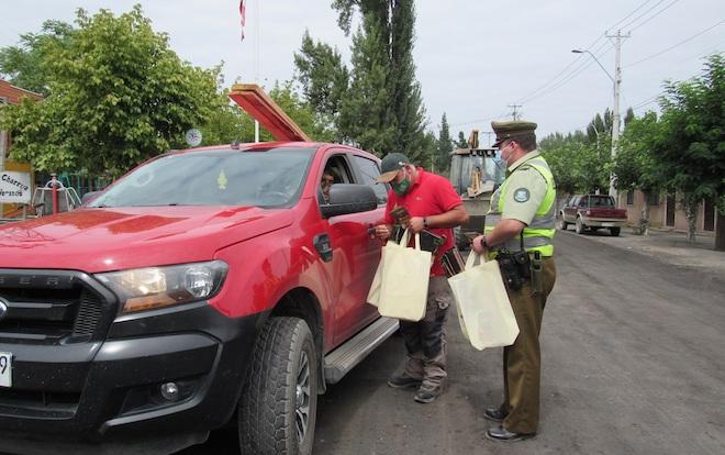 Refuerzan mensaje de prevención de incendios forestales en zonas de interfaz  de Charrúa