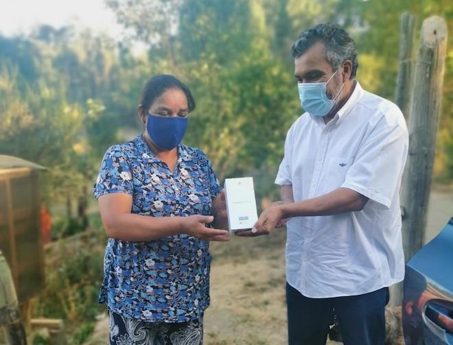 Infor entrega equipamiento tecnológico a recolectoras del Biobío para potenciar comercialización en pandemia