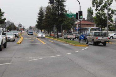 37 infracciones por mal uso de corredores de transporte público se cursaron en hora punta la mañana de este martes en el Gran Concepción