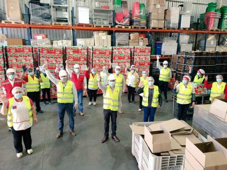 Más de 2 millones 400 mil canastas de alimentación escolar son entregadas por Junaeb en el Biobío durante la pandemia