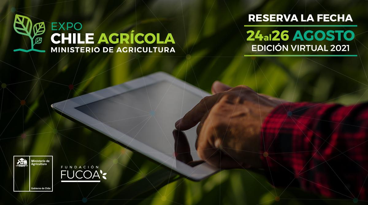 Ministerio de Agricultura y FUCOA anuncian fechas de Expo Chile Agrícola 2021