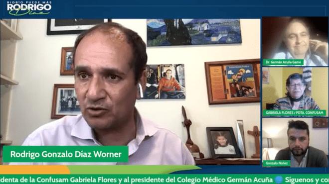 Presidentes del Colegio Médico del Biobío, de la Confusam y Exintendente Díaz acusan al centralismo como culpable de empeorar la crisis sanitaria en la Región