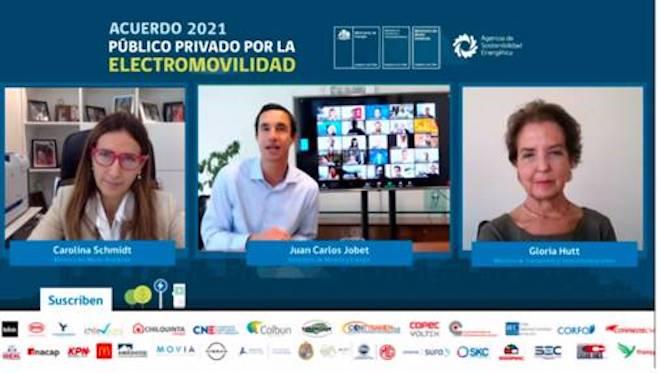 Acuerdo público privado impulsará electromovilidad en Chile