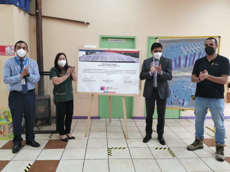 Jardines infantiles de la Región del Biobío contarán con sistemas solares fotovoltaicos