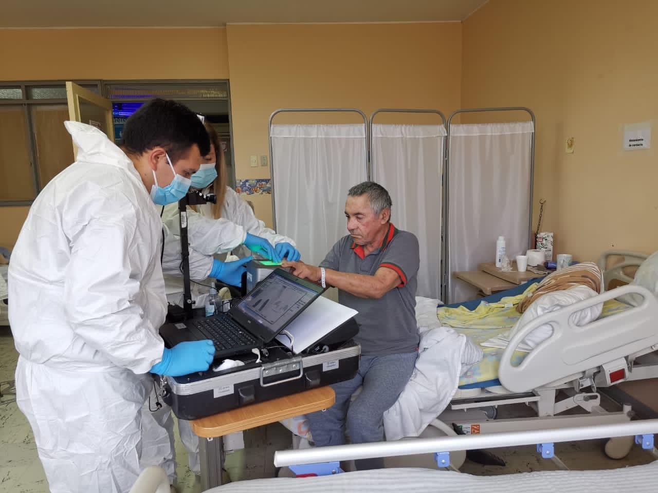 Pacientes socio sanitarios del Hospital de Santa Juana contarán con cédula de identidad