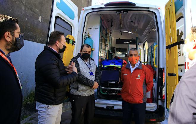 Por pandemia SS Concepción adelanta entrega de nueva ambulancia para Chiguayante