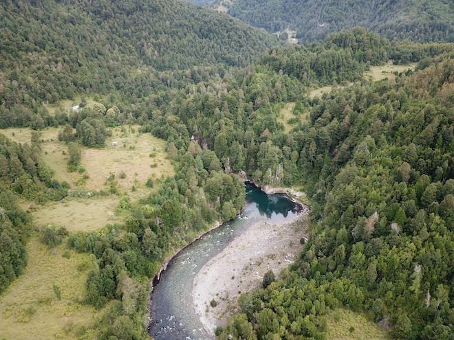 Estudiomuestra cómofalla geológicadesplazó un río del sur de Chiledurantelos últimos10.000años