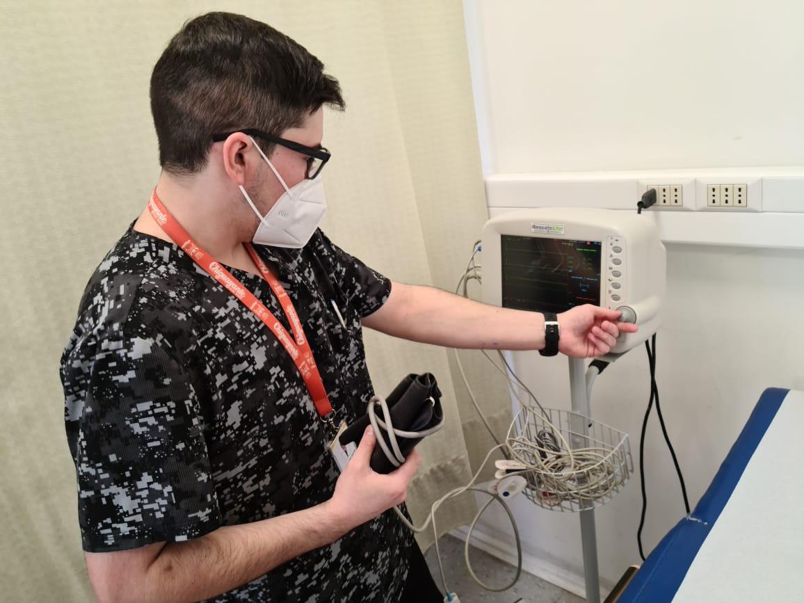 Implementan Unidad de Observación Prolongada enfocada en pacientes COVID en Chiguayante